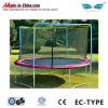 Safety Net를 가진 옥외 Exercise Fitness Equipment Gymnastic Trampolines