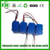 Icr18650 11.1V 5.2ah李イオンRechargeable Battery Pack 3s2p