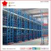 Multi-Rangées et système debout libre de défilement ligne par ligne de palette d'entrepôt de mezzanine (OW-MTR2)