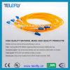 LC de Optische Verbindingsdraad van de vezel, de Kabel van de Verbindingsdraad LC