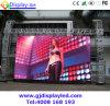 Pantalla de visualización a todo color al aire libre de alquiler de LED P6 para hacer publicidad