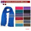 De Sjaal van de polyester Dame Scarf Acrylic Scarf Buff met POM (OS1007)