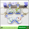 Porselein Keychain van de Bevordering van de douane het Blauwe en Witte