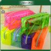 Zakken van het Potlood van pvc van de Kleur van het Suikergoed van de Student van de school de Multi