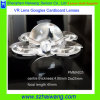 Comprimento focal acrílico do diâmetro 45mm da lente 25mm de Vr do cartão de Google