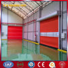 Puerta de alta velocidad de la persiana enrrollable de la tela industrial del PVC (YQRD0096)