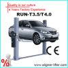 Poste deux garant la portance hydraulique de voiture de garage de 2 étages