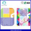 Tarjeta plástica cortada con tintas aduana anormal del regalo del PVC