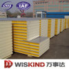 Matériaux de construction professionnels à haute densité de panneau sandwich de /PU de polyuréthane