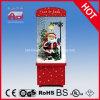 عيد ميلاد المسيح زخرفة يثلج صندوق مع [سنتا] كلاوس و [لد]