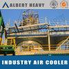 空気冷却による空気そして液体熱交換器