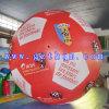 Aerostato gonfiabile di esposizione esterna gigante di calcio