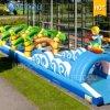 Campo da giuoco gonfiabile del parco di divertimenti della sosta della città gonfiabile gonfiabile di divertimento