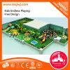 Plastikguangzhou-Kind-Innenspielplatz-Plättchen