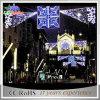 Lichten van de Decoratie van de Horizonnen van de Straat van het LEIDENE Koord van Kerstmis de Openlucht