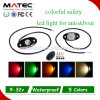 IP68 Waterproof White Red Orange Blue 12V Flashing Safety Road Light
