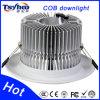 ÉPI Downlight de DEL enfoncé par ÉPI en aluminium