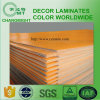 Superficie amarilla de la textura del azafrán HPL