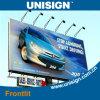 Наружная реклама Материал (fronlit подсветкой знамя гибкого трубопровода)