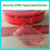 De Band van de Verbinding van de Veiligheid van de douane; De rode Band van de Veiligheid