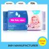 Sem álcôol molhar o Wipe para a tela não tecida macia do cuidado do bebê (BW008)