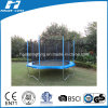 los 6-16FT Simplified Big Round Trampoline con Enclosure