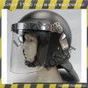 高い反Impact Military Police Safety Riot HelmetおよびStable Quality Specialized Anti Riot Helmet