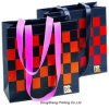 Handle di carta Gift Shopping Bag con Square Printing per Clothing