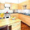 Backsplash klassische Küche-Schrank-festes Holz-Küche-Geräten-Küche-Möbel