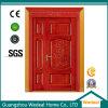 Personalizar a porta dobro desigual de carvalho vermelho de madeira contínua