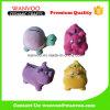 Estátuas animais cerâmicas do banco de moeda do brinquedo das crianças para a decoração