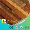 Suelo laminado afilado encerado nuez dura al por mayor de la textura de la madera