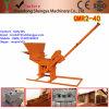 Solo de argila Qmr2-40/maquinaria do bloco tijolo do cimento