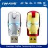 Movimentação do flash do USB do super-herói de América, modelos misturados, capitão de América, batman, Spideman, Ironman