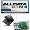 Selbstreparatur-Software-Scanner Alldata und Laptop der Mitchell Software-X200t