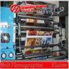 Machine d'impression flexographique de papier pour étiquettes de couleur de la norme 4 d'exportation (CH884-1000P)