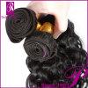 Virgin malese Hair Weave, Human Hair Extensions per le donne di colore