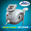 Macchina non dolorosa del laser di rimozione dei capelli del diodo di rendimento elevato 808nm