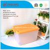ABLAGEKASTEN-stapelbarer Plastikablagekasten der Hotsale Hight Qualitäts45l Plastikmit Kappen für Haushalts-Verpackung