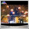 Indicatore luminoso impermeabile della sfera della decorazione festiva LED dell'albero di Natale