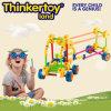 Blocs constitutifs en plastique de jouets intellectuels et éducatifs