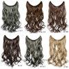 Beste verkaufenfabrik-natürliche lockiges Haar-Extensionen einschlag