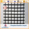 50knx50kn Glassfiber Geogrids die met het Bitumen van het Asfalt met een laag wordt bedekt