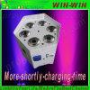 De professionele LEIDENE Draadloze Batterij Uplighting/PAR kan Lichten