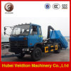 Dongfeng 145 Hooklift Garbage Truck, 8ton Garbage Container Truck