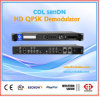 Récepteur satellite de Digitals HD, décodeur de récepteur, démodulateur IRD Col5811dn de Qpsk