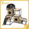 Дом мебели кота киски Hideaway с крышей (PT53113L)