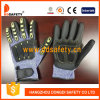 Cortar Resistant Gloves Hppe Shell con Black Nitrile-TPR226