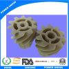 Peek plástico cilíndrico helicoidal espiral de engranaje para la Industria de Maquinaria