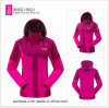 Weicher Shell-Dame-Winter-warme Jacke